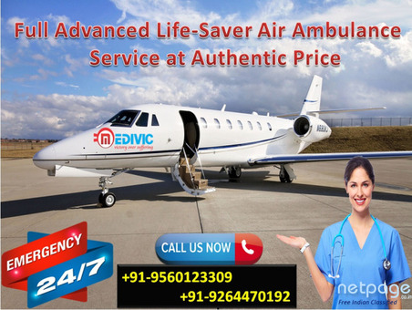 Exclusive Emergency Service by Medivic Air Ambulance in Kolkata