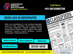 Uttam Nagar Newspaper Ad Booking Service