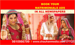 Matrimonial Newspaper Ad Booking Online