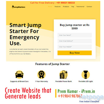 Website Design Cost just for 7500 INR