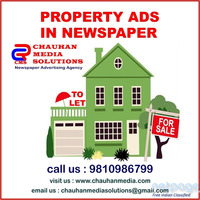 Book To Let Advertisement in Any Newspaper