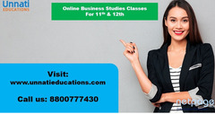 Business Studies Classes Online for 11th and 12th
