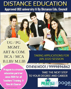 Avail Distance Courses in Delhi