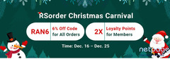 Top Site to Enjoy 6% Off RS 07 Gold on RSorder for Xmas until Dec 25