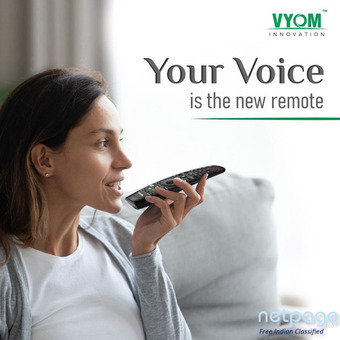 Search Your Favourite Movies With Just A Voice Command -Vyom