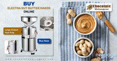Shop Online Peanut Butter Making Machine –Nut Butter Machine - chocolatemelangeur.com