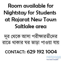 Overnight stays are available for students
