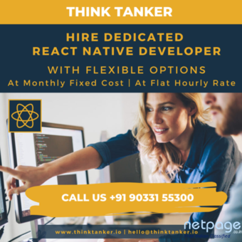 Hire React Native Developers in Bangalore - ThinkTanker