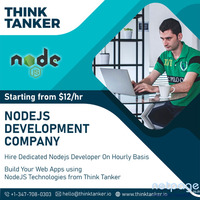 Hire Expertise NodeJS Developers in Mumbai - ThinkTanker