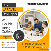 Hire Laravel Website Developers USA - ThinkTanker