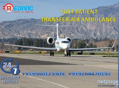 Hire Reliable Patient Transfer Air Ambulance Services in Guwahati