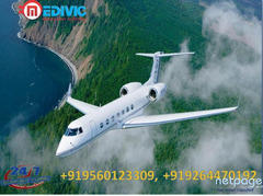 Hire Classy Patient Shifting Air Ambulance Services in Kolkata by Medivic