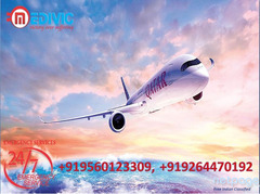 Get Masterly Air Ambulance Services in Ranchi-at Low-Cost by Medivic