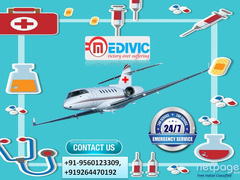 High-Standard Air Ambulance Service in Delhi by Medivic