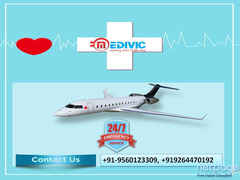 Hassle-Free Perfect Air Ambulance Service in Dibrugarh by Medivic