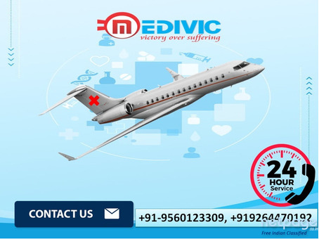 Excellent ICU Care Air Ambulance Service in Guwahati by Medivic