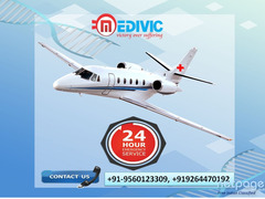 High-Level Emergency Air Ambulance Service in Kolkata by Medivic