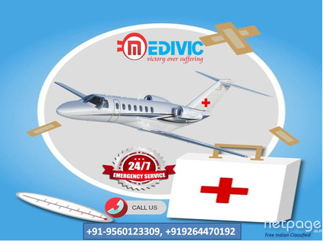 Top-Listed Emergency Air Ambulance Service in Ranchi by Medivic