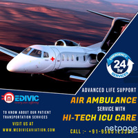 Avail Top-Rated Air Ambulance Services in Mumbai by Medivic