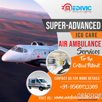 Medivic Air Ambulance Services in Patna for Remarkable Shifting