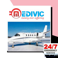 Pick Quickly the Fastest CCU Air Ambulance Service in Hyderabad by Medivic