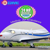 24 * 7 Perfect ICU Air Ambulance Service in Raigarh by Medivic with Top Class Vital Care