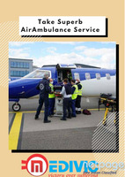 Quickly Hire the High tech ICU Air Ambulance Service in Dimapur by Medivic