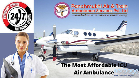 Panchmukhi Air Ambulance in Bangalore: Transfer Swiftly Of Any Patient