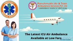 Want to Book ICU Configured Charter Air Ambulance in Ranchi