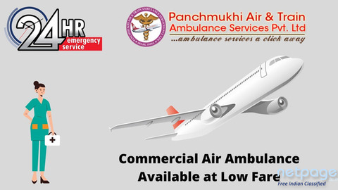 A Fine CCU Setup Air Ambulance Avail in Bhopal for Quick Patient Transfer
