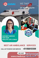 Choose the incredible Air Ambulance Service in Chennai by Medivic Aviation
