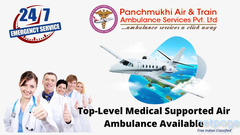 Urgently Required Air Ambulance in Varanasi with Latest MICU Setup