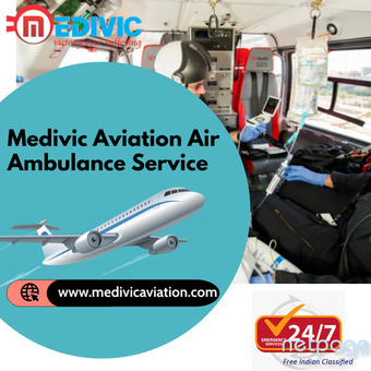 Elect Trouble-free Air Ambulance Service in Gaya by Medivic Aviation