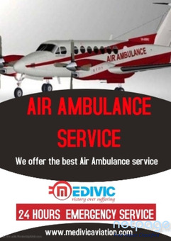 Pick the Spectacular Air Ambulance Service in Ranchi by Medivic Aviation