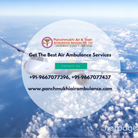 Air Ambulance Service in Jamshedpur Avail with Proper ICU Setup
