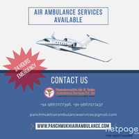Receive Air Ambulance Service in Gorakhpur with Excellent Health Support