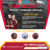 Select Fast Shifting Service by Medivic Air Ambulance from Delhi