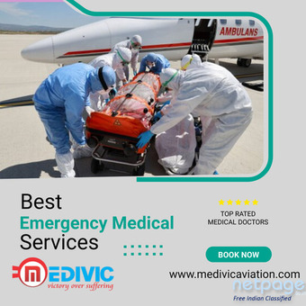 Obtain Notable ICU Services by Medivic Air Ambulance in Guwahati