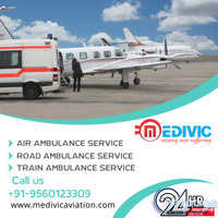 Get Emergency Rescue by Medivic Air Ambulance from Patna