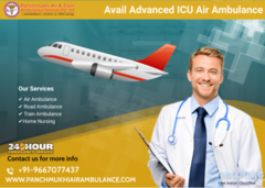 Obtain First-Rated Emergency Air Ambulance in Delhi