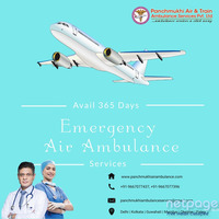 Get Full ICU Configured Air Ambulance in Patna at Anytime