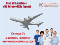 Use Air Ambulance in Guwahati with Modern ICU Setup