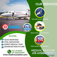 Get Suitable ICU Air Ambulance Services in Bangalore at Less-Amount