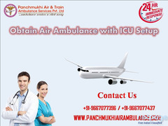 Book Finest ICU Upgrade Air Ambulance in Chennai at Low Fare
