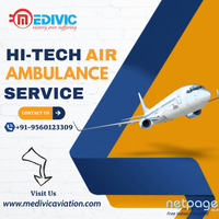 Pick Efficient Life-Saver Air Ambulance Services in Chennai by Medivic