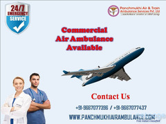 Available Secure Emergency Air Ambulance in Bangalore at Low Fare