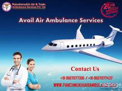 Receive the Best Air Ambulance in Dibrugarh with Peerless ICU Setup