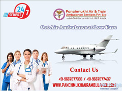 Incredibly Advanced Emergency Air Ambulance Available in Jamshedpur