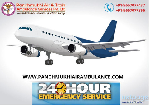 Swiftly Book Air Ambulance in Ranchi for Patient Transportation