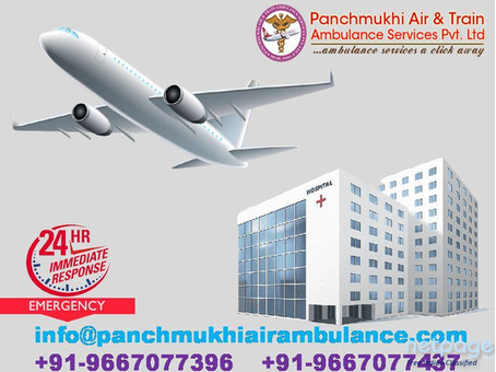 Need an Air Ambulance Service in Chandigarh with a Medical Support Team